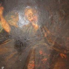 Arte: SAN RAFAEL OLEO PINTURA ANTIGUA BARROCO S XVIII CUSTODIO DE CORDOBA CIERTO ESTILO DE GOYA. Lote 148613914