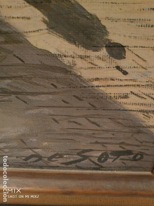 Arte: RAFAEL FERNÁNDEZ DE SOTO- PINTURA AL OLEO 39*55 cm - Foto 2 - 182971606