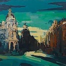 Arte: GRAN VÍA, MADRID, FIRMADO LUSIGNAN.. Lote 182982831