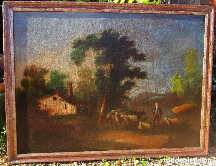 Arte: cuadro antiguo - Foto 4 - 182989661