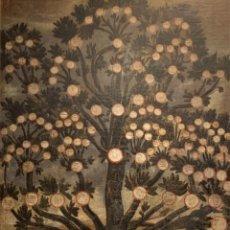 Arte: IMPRESIONANTE ARBOL GENEALOGICO DE FAMILIA NOBLE CASTELLANA, SIGLO XVI, GUADALAJARA. Lote 183015737