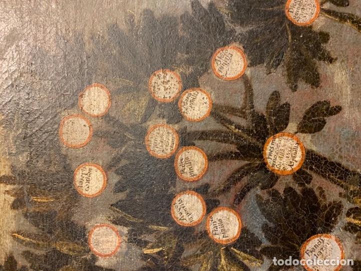 Arte: IMPRESIONANTE ARBOL GENEALOGICO DE FAMILIA NOBLE CASTELLANA, SIGLO XVI, guadalajara - Foto 10 - 183015737
