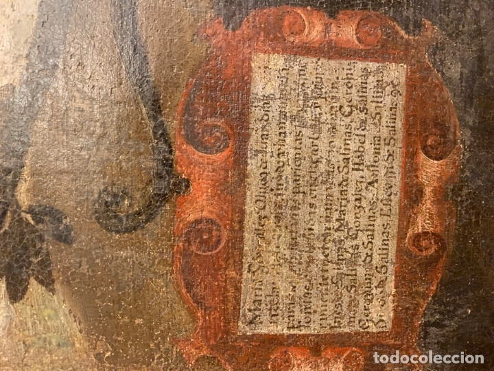 Arte: IMPRESIONANTE ARBOL GENEALOGICO DE FAMILIA NOBLE CASTELLANA, SIGLO XVI, guadalajara - Foto 23 - 183015737