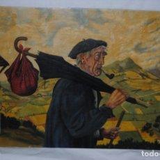 Arte: ANTIGUA PINTURA VASCA SIN FECHA . Lote 183069277