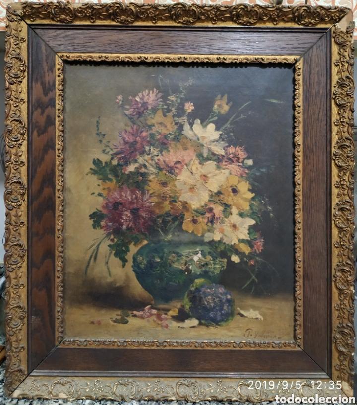 ÓLEO ORIGINAL, HENRY EUGEN CAUCHOIS (Arte - Pintura - Pintura al Óleo Antigua siglo XVIII)