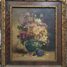 Arte: ÓLEO ORIGINAL, HENRY EUGEN CAUCHOIS. Lote 183076293