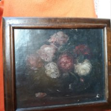 Arte: MOTIVO FLORAL O/L (SALGA). Lote 183091127