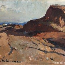Arte: JOSEP MARTINEZ LOZANO (1923-2006) - PAISAJE - ÓLEO. Lote 183195698