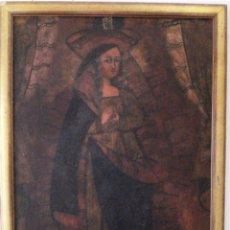 Arte: ÓLEO SOBRE TELA ESCUELA CUZQUEÑA. Lote 183218671