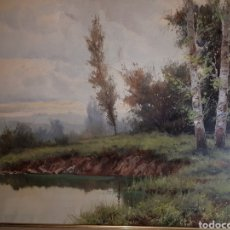 Arte: PAISAJE POR RICARDO SOLÉ GONZÁLEZ. Lote 183268941