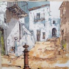 Arte: CUADRO BERNARD DUFOUR. PINTOR FRANCÉS. ACRÍLICO SOBRE TELA. SIN BASTIDOR.. Lote 183280543