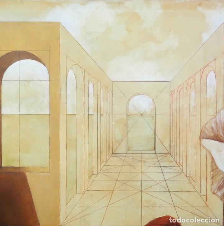 Arte: CELEDONIO PERELLÓN. ÓLEO GRAN FORMATO. COMPOSICIÓN CON MARILYN. FINALES DE LOS 90 - Foto 6 - 183316588