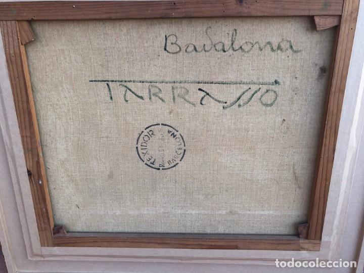 Arte: Casimir Martínez Tarrassó (Barcelona, 1898-1980) - Badalona - Óleo - Publicado - Foto 8 - 183316831