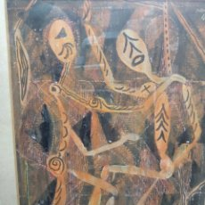Arte: JULI RAMIS TÉCNICA MIXTA SOBRE PAPEL MALLORCA BALEARES. Lote 183334145