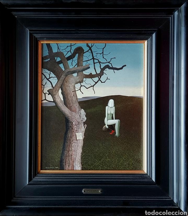 DON CLARKE, PEQUEÑA, PRECIOSA Y MAGNIFICA PINTURA ORIGINAL FIRMADA. (Arte - Pintura - Pintura al Óleo Contemporánea )