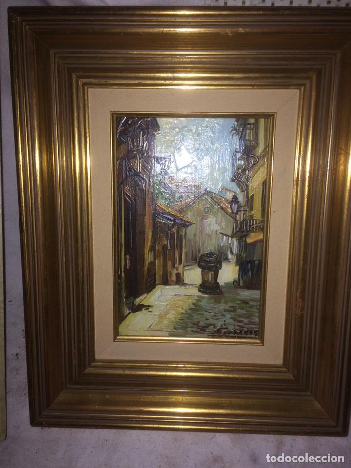 PRECIOSO CUADRO PINTADO EN OLEO SOBRE TABLA DE MADERA! (Arte - Pintura - Pintura al Óleo Antigua sin fecha definida)
