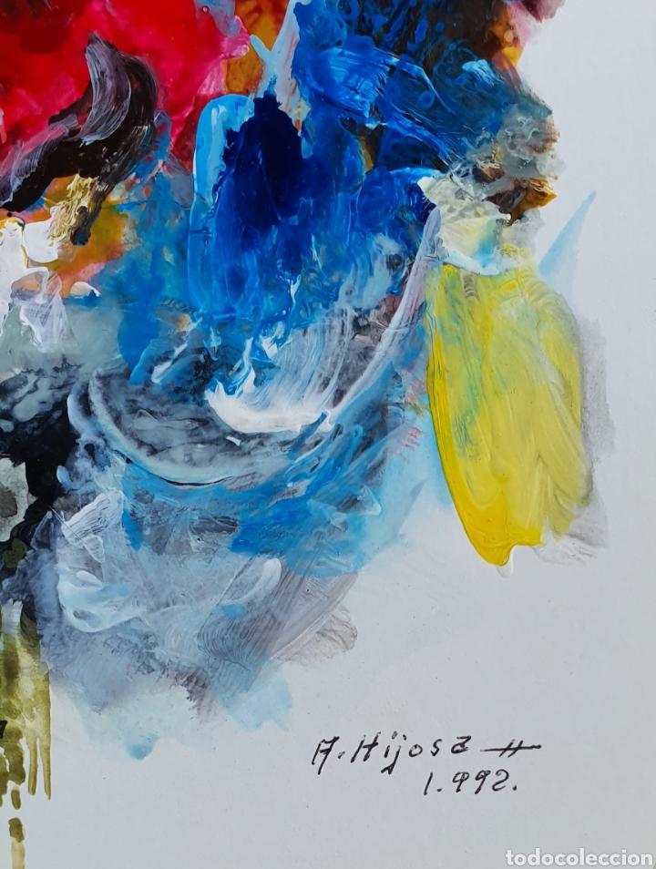 Arte: A. Hijosa, preciosa pintura original, titulada y firmada. - Foto 2 - 183379166