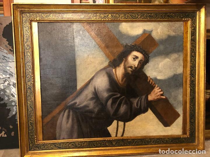 Arte: extraordinario nazareno esc. sevillana s. xvii - Foto 2 - 183405482