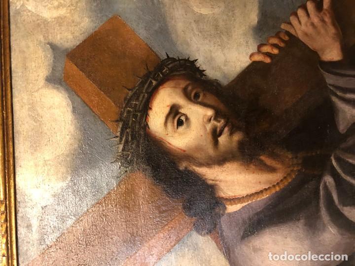 Arte: extraordinario nazareno esc. sevillana s. xvii - Foto 4 - 183405482