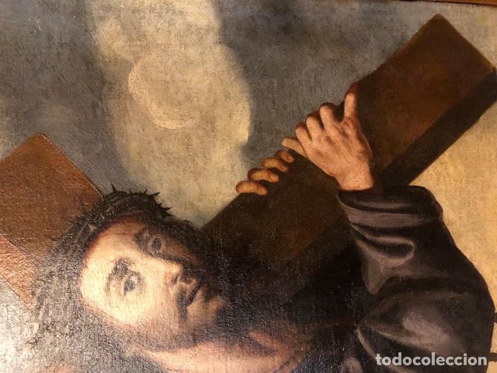 Arte: extraordinario nazareno esc. sevillana s. xvii - Foto 5 - 183405482