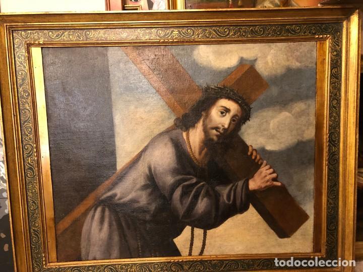 Arte: extraordinario nazareno esc. sevillana s. xvii - Foto 6 - 183405482
