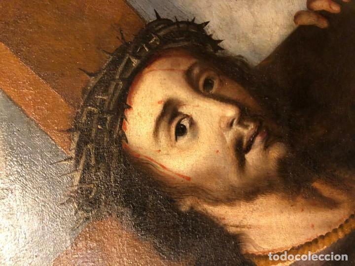 Arte: extraordinario nazareno esc. sevillana s. xvii - Foto 10 - 183405482