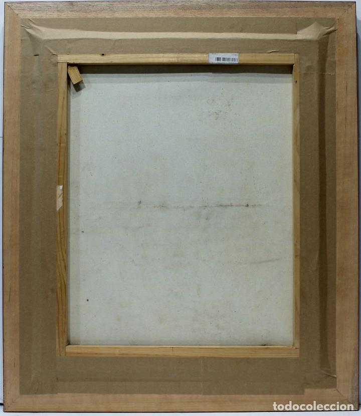 Arte: Jinetes - Escuela Holandesa - Oleo sobre lienzo - 78x68 cm - Foto 2 - 98733810