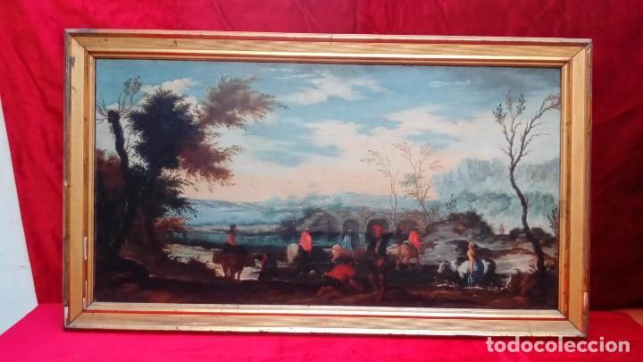 OLEO SOBRE LIENZO- (Arte - Pintura - Pintura al Óleo Antigua sin fecha definida)