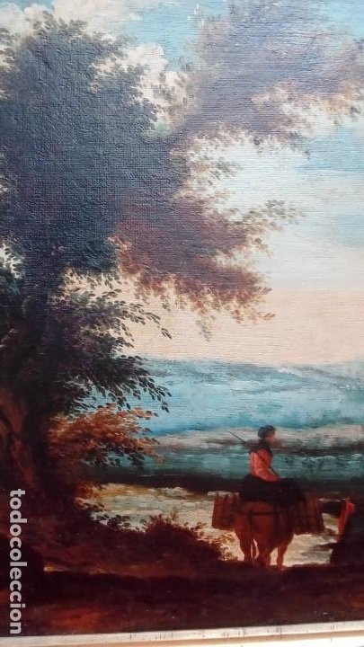 Arte: oleo sobre lienzo- - Foto 5 - 183503550