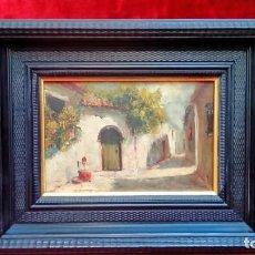 Arte: OLEO SOBRE TABLEX-J.TORMO-. Lote 183504246