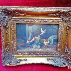 Arte: OLEO SOBRE TABLEX-E.HUNT-. Lote 183504912