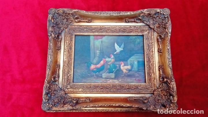 Arte: oleo sobre tablex-E.HUNT- - Foto 2 - 183504912