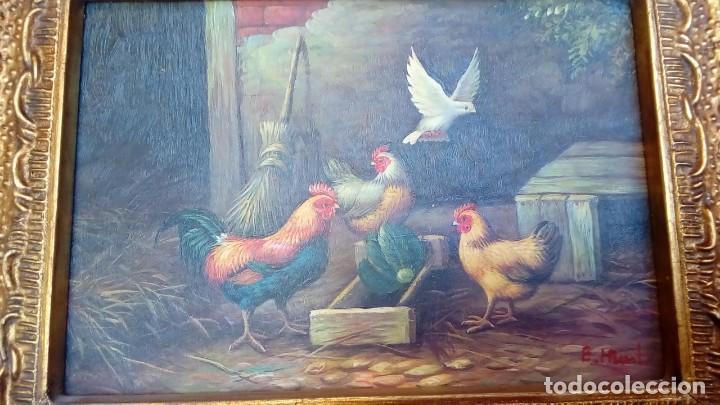 Arte: oleo sobre tablex-E.HUNT- - Foto 3 - 183504912