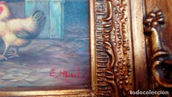 Arte: oleo sobre tablex-E.HUNT- - Foto 4 - 183504912