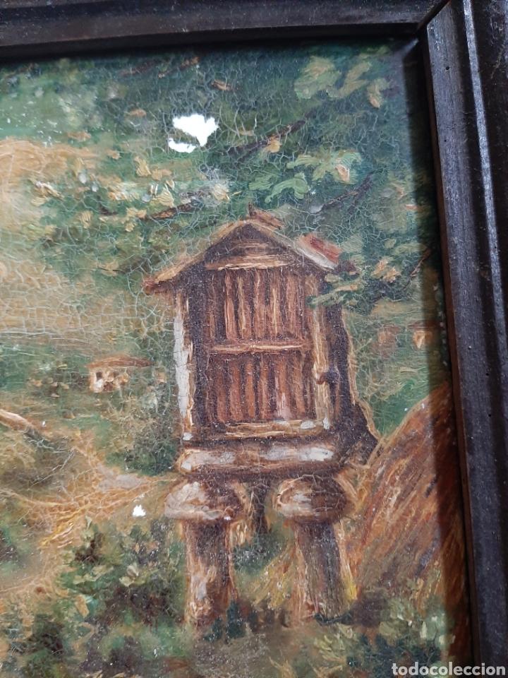 Arte: Antiguo óleo sobre azulejo motivo gallego firmado L, Ulloa - Foto 4 - 183554581