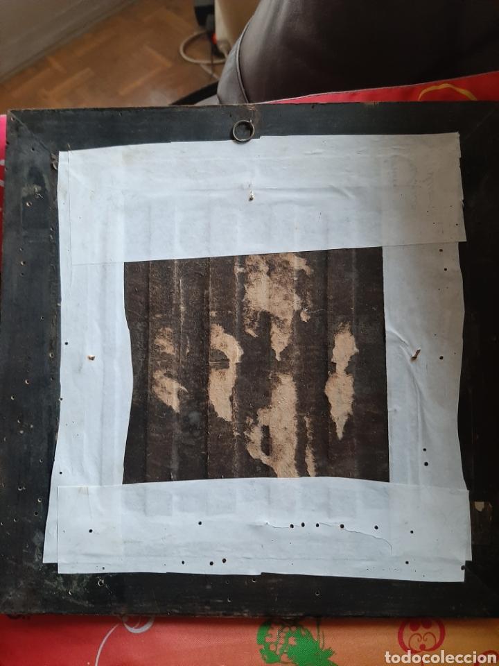 Arte: Antiguo óleo sobre azulejo motivo gallego firmado L, Ulloa - Foto 5 - 183554581