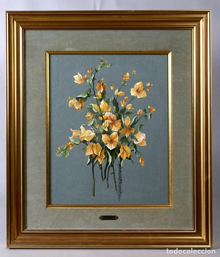 Arte: Pareja de bodegones florales - Foto 2 - 183568865