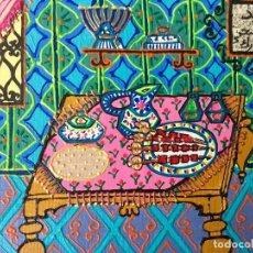 Arte: RUTH CALDERÍN ESCENA CON INTERIOR ÁRABE TITULADO EID EL ADHA MUBARAK DE LA SERIE MADE IN MEDINA. Lote 183570840