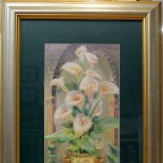 Arte: FLORES - ESCUELA HOLANDESA - MIXTA - 115X77 CM. Lote 183636636