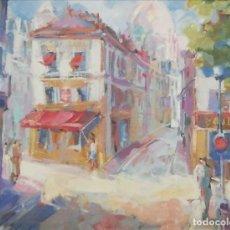 Arte: CALLE DE PARIS.PEDRO SOLÉ. Lote 183649562