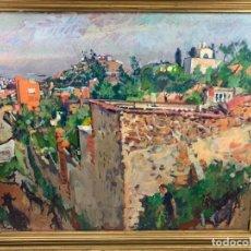 Arte: EL CARMELO - 1978 OLEO SOBRE TELA - IGNACI MUNDÓ (1918-2012)- CON MARCO 94 X 114 CM.. Lote 183687803