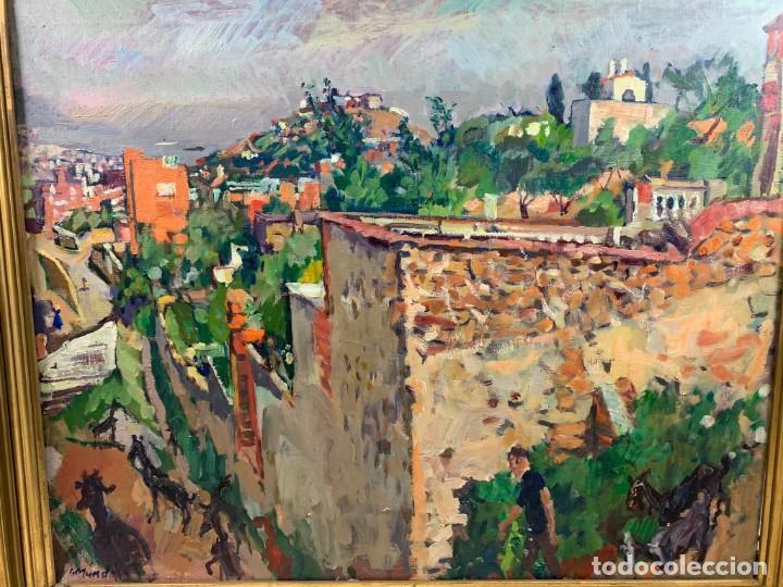 Arte: EL CARMELO - 1978 OLEO SOBRE TELA - IGNACI MUNDÓ (1918-2012)- CON MARCO 94 X 114 CM. - Foto 2 - 183687803