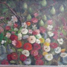 Arte: OBRA AL OLEO JOSE MARIA DEL RIO MORENO. Lote 183697911