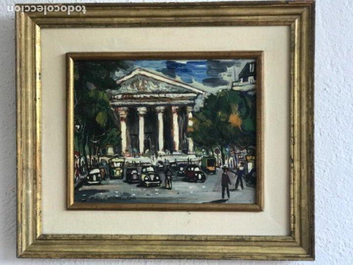 RAMON AGUILAR MORÉ OLEO SOBRE TABLA. PARIS 1960'S. (Arte - Pintura - Pintura al Óleo Contemporánea )