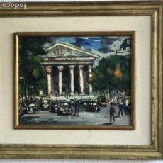 Arte: RAMON AGUILAR MORÉ OLEO SOBRE TABLA. PARIS 1960'S.. Lote 183767190