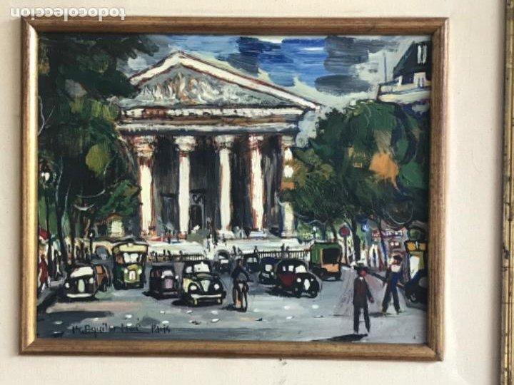 Arte: RAMON AGUILAR MORÉ OLEO SOBRE TABLA. PARIS 1960'S. - Foto 2 - 183767190