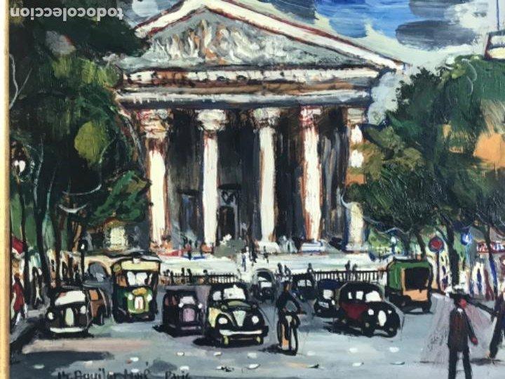 Arte: RAMON AGUILAR MORÉ OLEO SOBRE TABLA. PARIS 1960'S. - Foto 3 - 183767190