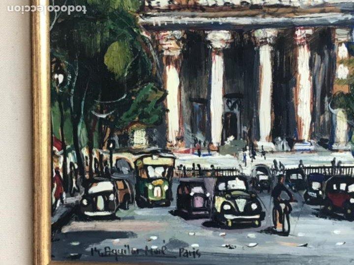 Arte: RAMON AGUILAR MORÉ OLEO SOBRE TABLA. PARIS 1960'S. - Foto 4 - 183767190