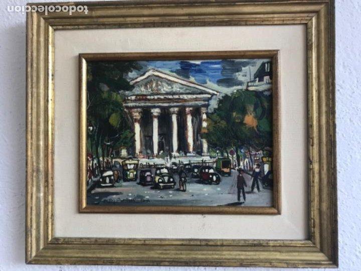 Arte: RAMON AGUILAR MORÉ OLEO SOBRE TABLA. PARIS 1960'S. - Foto 7 - 183767190
