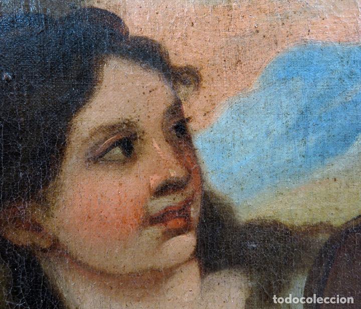 Arte: La idolatría de Salomón óleo sobre lienzo seguidor Luca Giordano escuela italiana finales siglo XVII - Foto 6 - 183829378